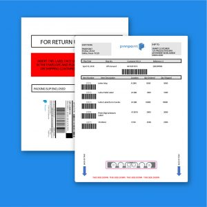 "8.5"" X 11"" Plain Paper with RFID"