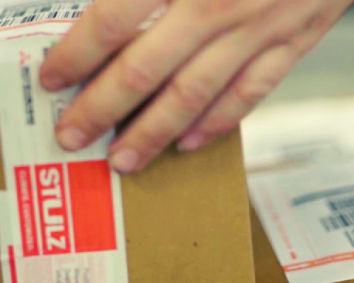 STULZ GROEP B.V. selects the Print & Ship label for enhanced warehouse shipping process