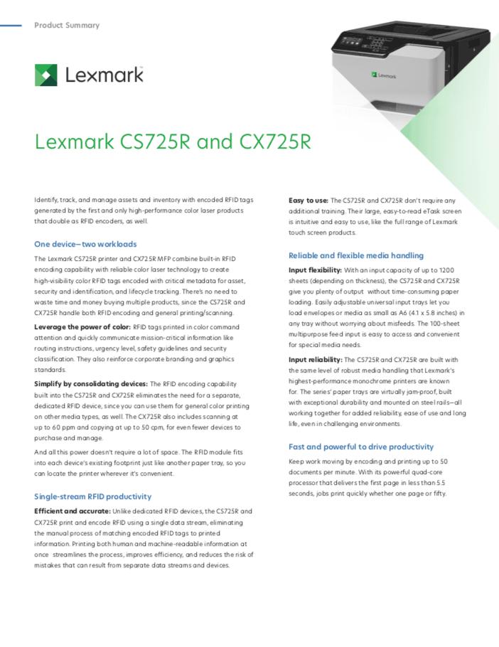 Lexmark-printer-brochure