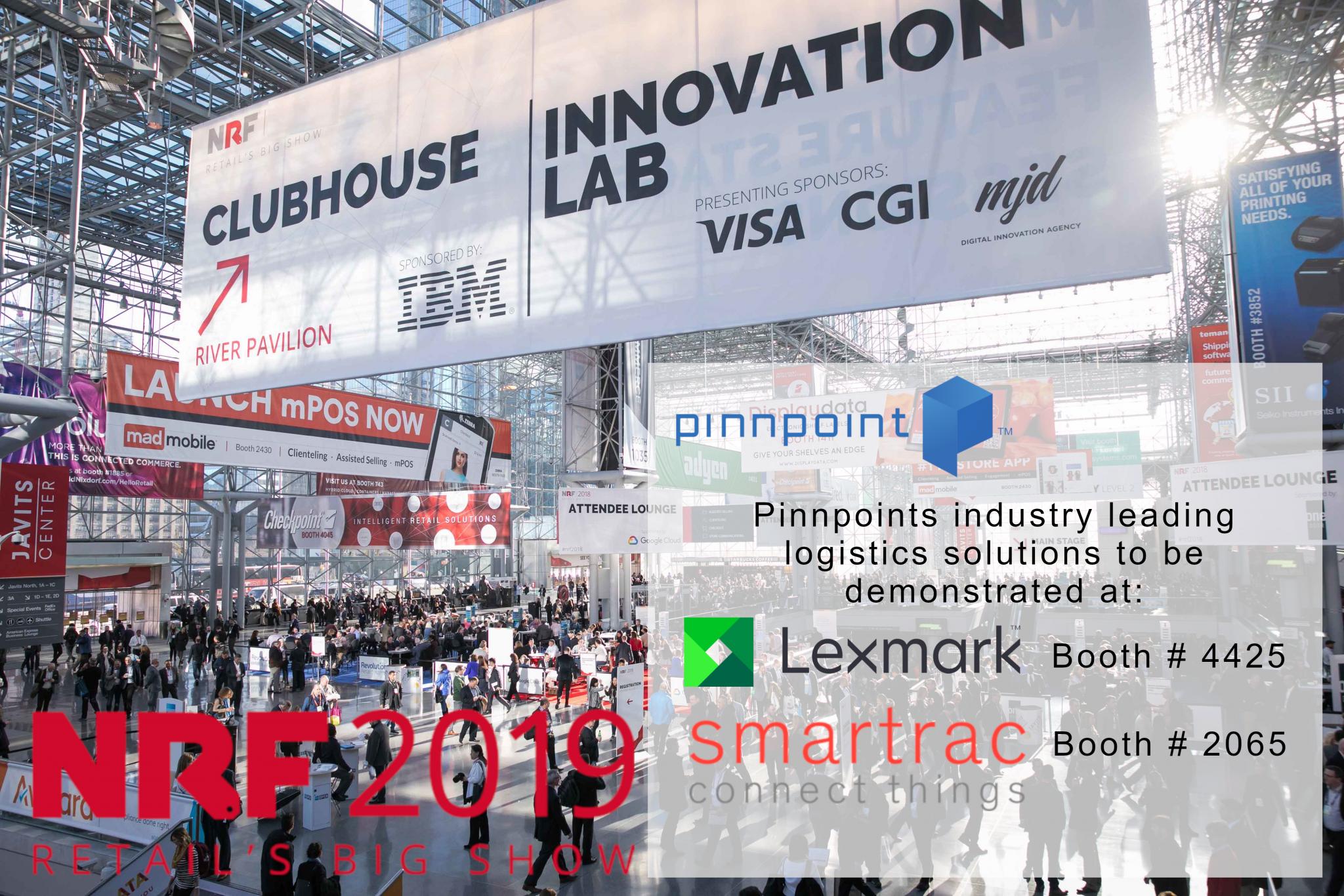NRF-2019 Pinnpoint Lexmark Smartrac